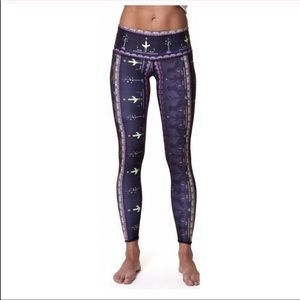 Teeki Wild & Free Hot Pant Leggings Cactus XS